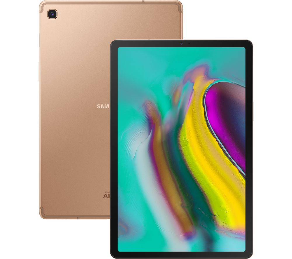"SAMSUNG Galaxy Tab S5e 10.5"" Tablet - 128 GB, Gold"