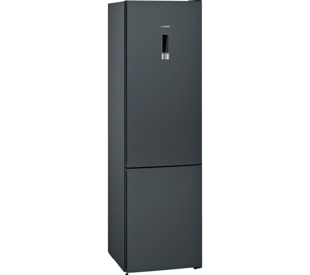 Image of SIEMENS iQ300 KG39NXB35G 70/30 Fridge Freezer - Black, Black