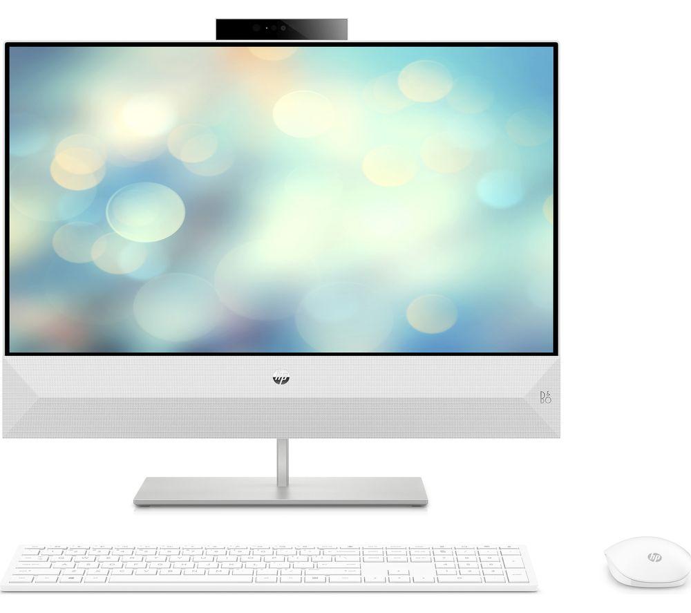"HP Pavilion 24-xa1009na 23.8"" All in One PC AMD Ryzen 7 2TB HDD 256GB SSD  White 193905415403 | eBay"