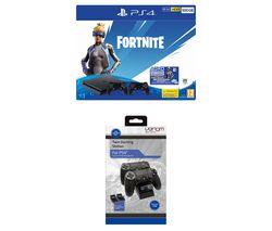 SONY PlayStation 4 with Fortnite Neo Versa & Twin Docking Station Bundle - 500 GB