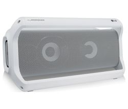 LG PK7W XBOOM Go Portable Bluetooth Speaker - White
