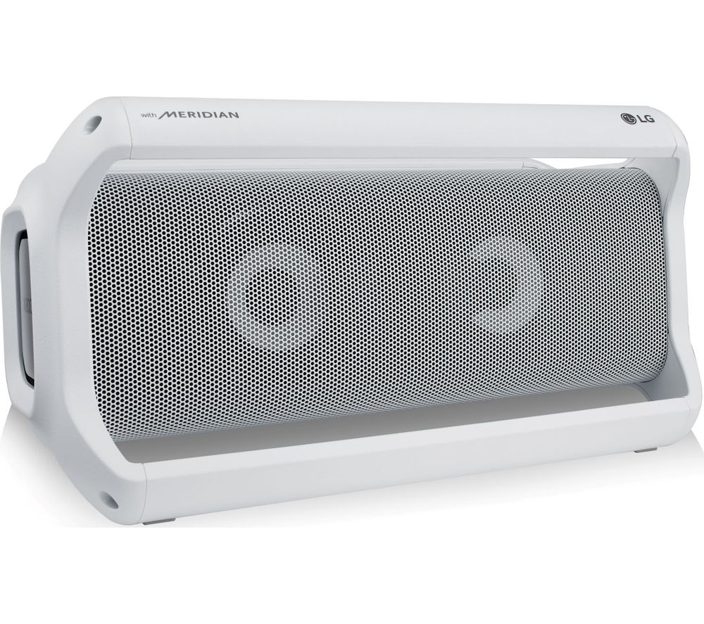 LG PK7W XBOOM Go Portable Bluetooth Speaker - White, White