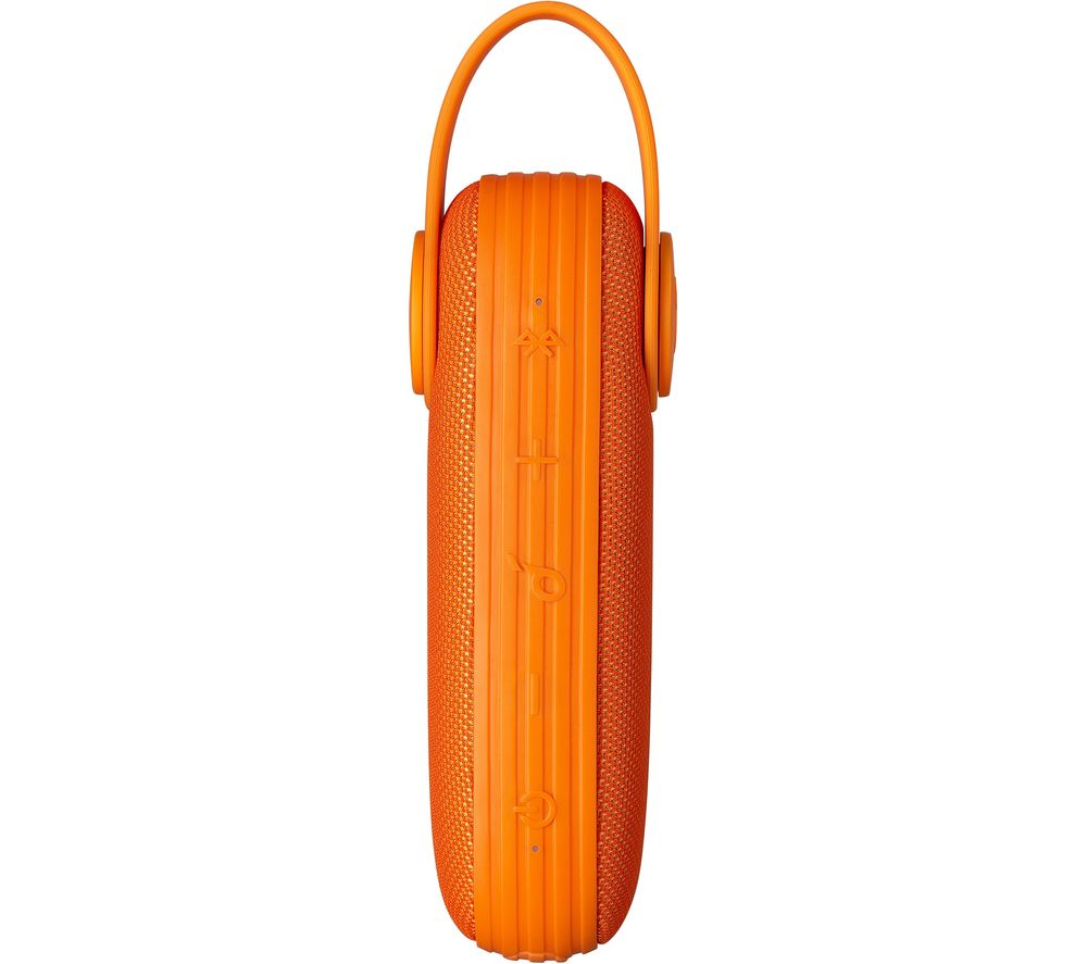 Icon Portable Bluetooth Speaker - Orange, Orange