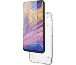 Samsung Galaxy A10 Case and Invisible Shield Glass - Clear