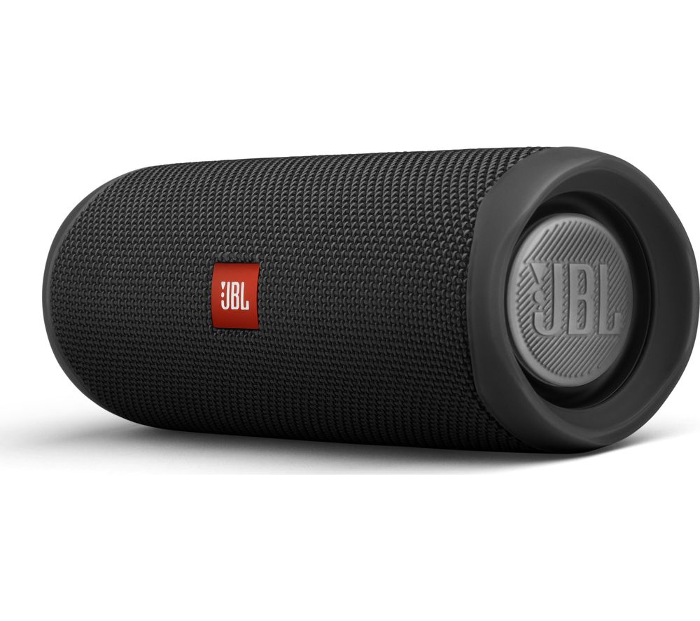 Flip 5 Portable Bluetooth Speaker - Black, Black