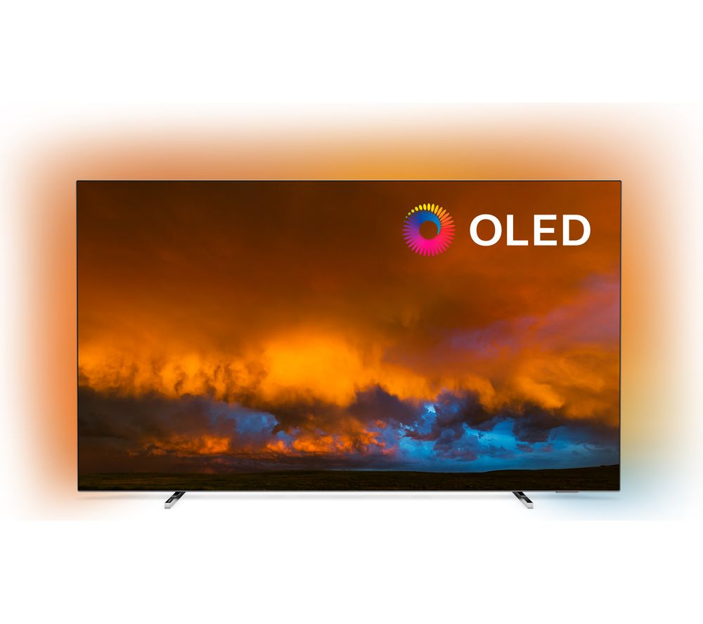 "Image of 55"" PHILIPS 55OLED804/12 Smart 4K Ultra HD HDR OLED TV with Google Assistant"