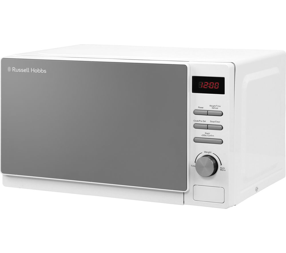 RUSSELL HOBBS RHM2079A Compact Solo Microwave - White
