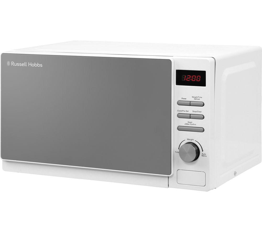 RUSSELL HOBBS Aura RHM2079A Solo Microwave - White