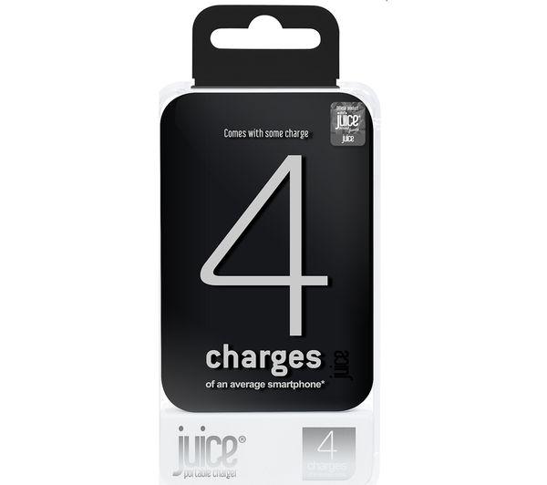 Image of JUICE 4 Portable Power Bank - Black