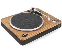 Stir It Up Wireless Belt Drive Bluetooth Turntable - Bamboo