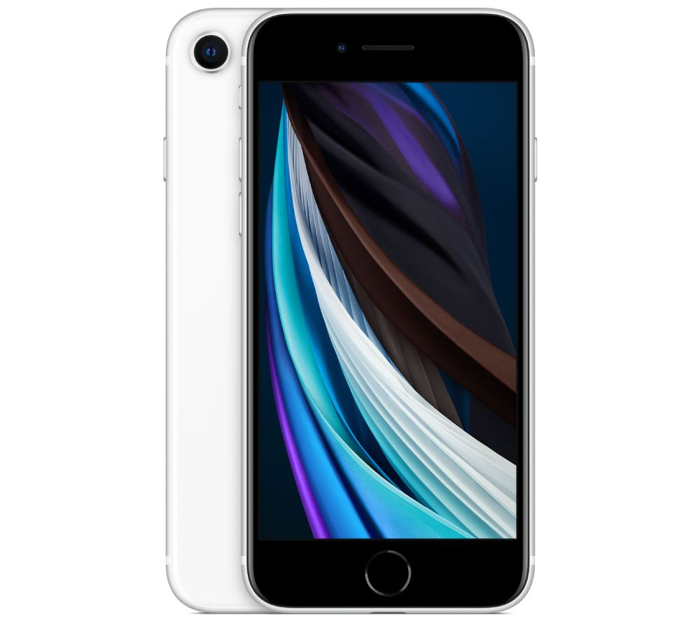 APPLE iPhone SE - 64 GB, White