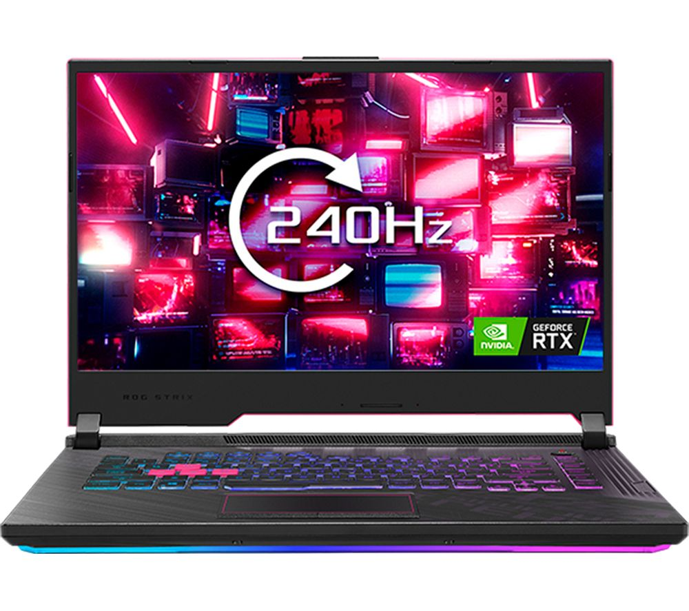 "Image of ASUS ROG STRIX G15 15.6"" Gaming Laptop - Intel®Core™ i7, RTX 2060, 1 TB SSD, Red"