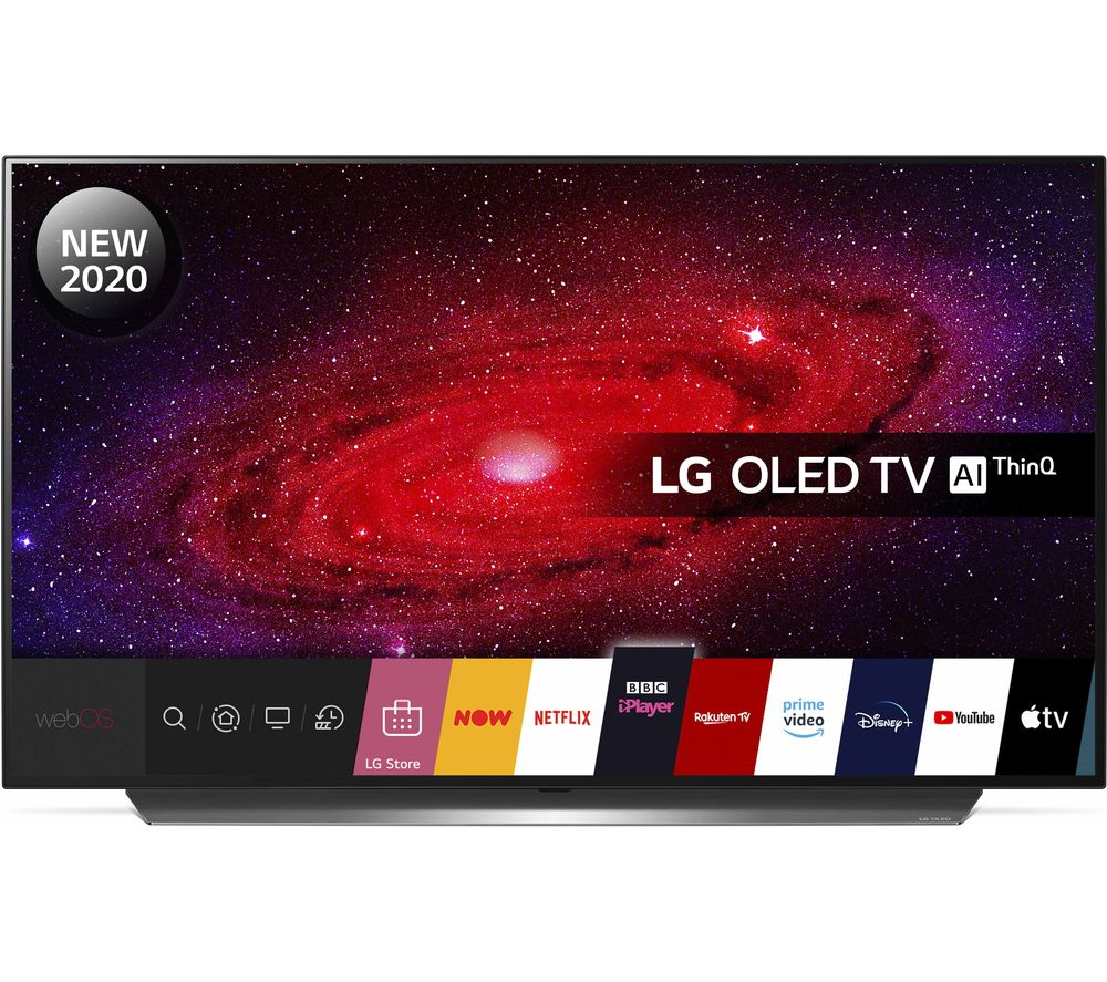 "LG OLED48CX6LB 48"" Smart 4K Ultra HD HDR OLED TV with Google Assistant & Amazon Alexa"