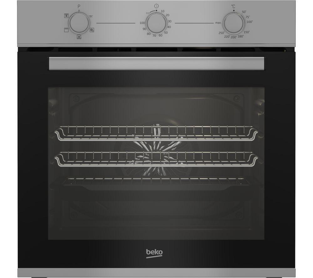 BEKO AeroPerfect BBXIF22100S Electric Oven - Silver, Silver