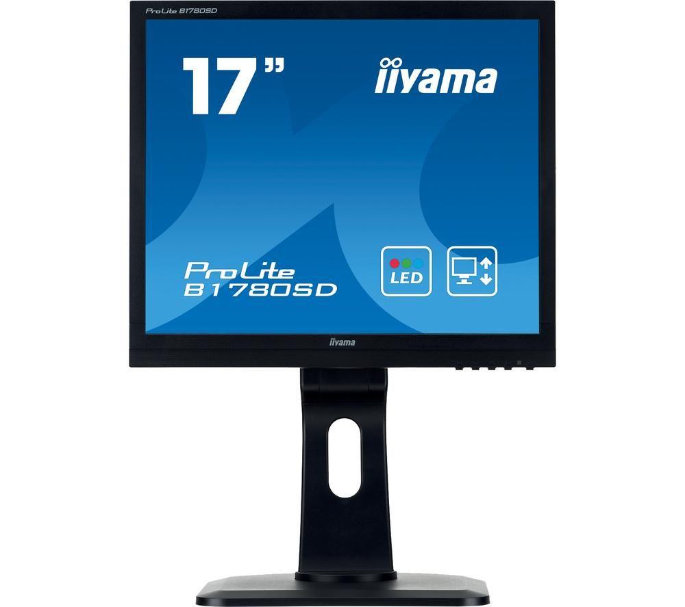 "Image of IIYAMA ProLite B1780SD-B1 17"" LCD Monitor - Black, Black"