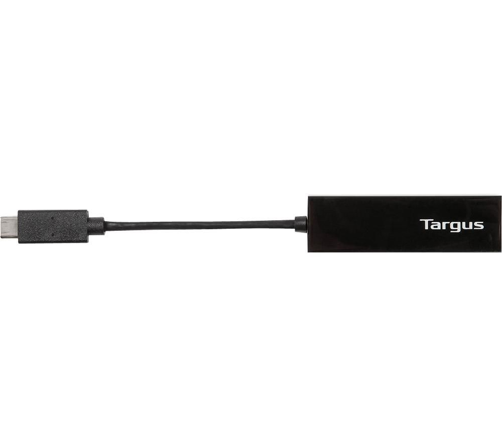 TARGUS USB-C to Gigabit Ethernet Adapter - Black