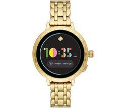 Scallop 2 KST2014 Smartwatch - Gold, Stainless Steel Strap, 42 mm