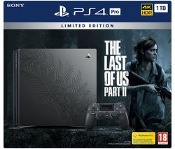 Limited Edition PlayStation 4 Pro with The Last of Us II Bundle