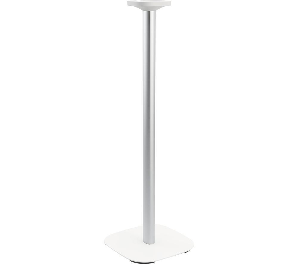 VOGELS Sound 4301 Sonos One & Play:1 Fixed Speaker Floorstand - White