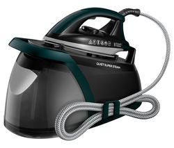 Quiet Super 24450 Steam Generator Iron - Green & Black