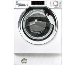 H-WASH 300 Pro HBDOS695TAMCET WiFi-enabled Integrated 9 kg Washer Dryer - White