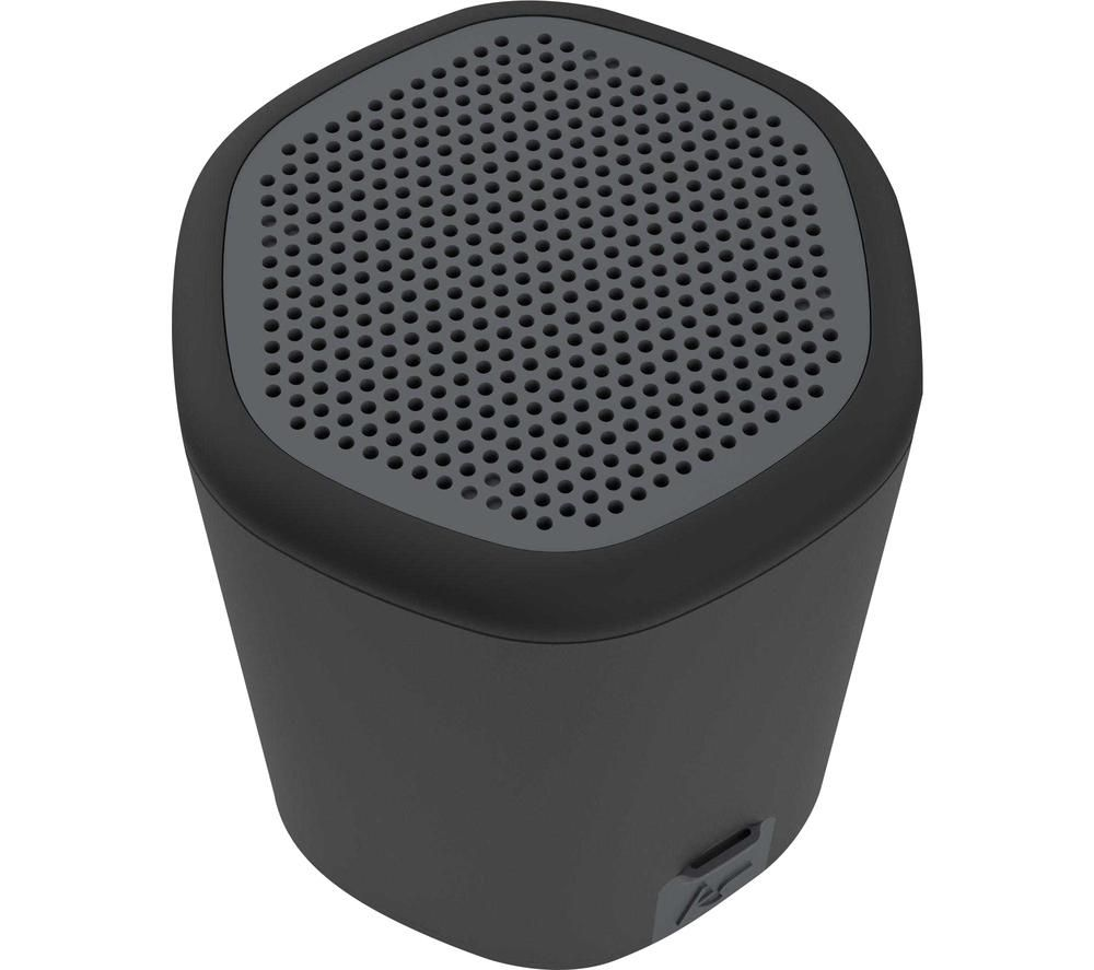 KITSOUND Hive2o Portable Bluetooth Speaker - Black, Black