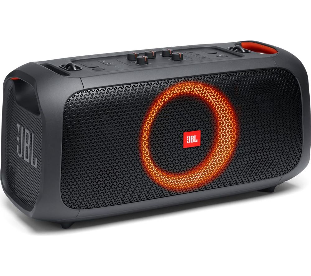 JBL Partybox On-The-Go Portable Bluetooth Speaker - Black, Black