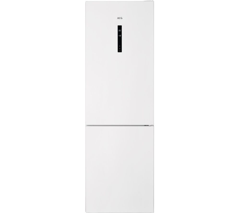 AEG RCB632E5MW 60/40 Fridge Freezer - White, White
