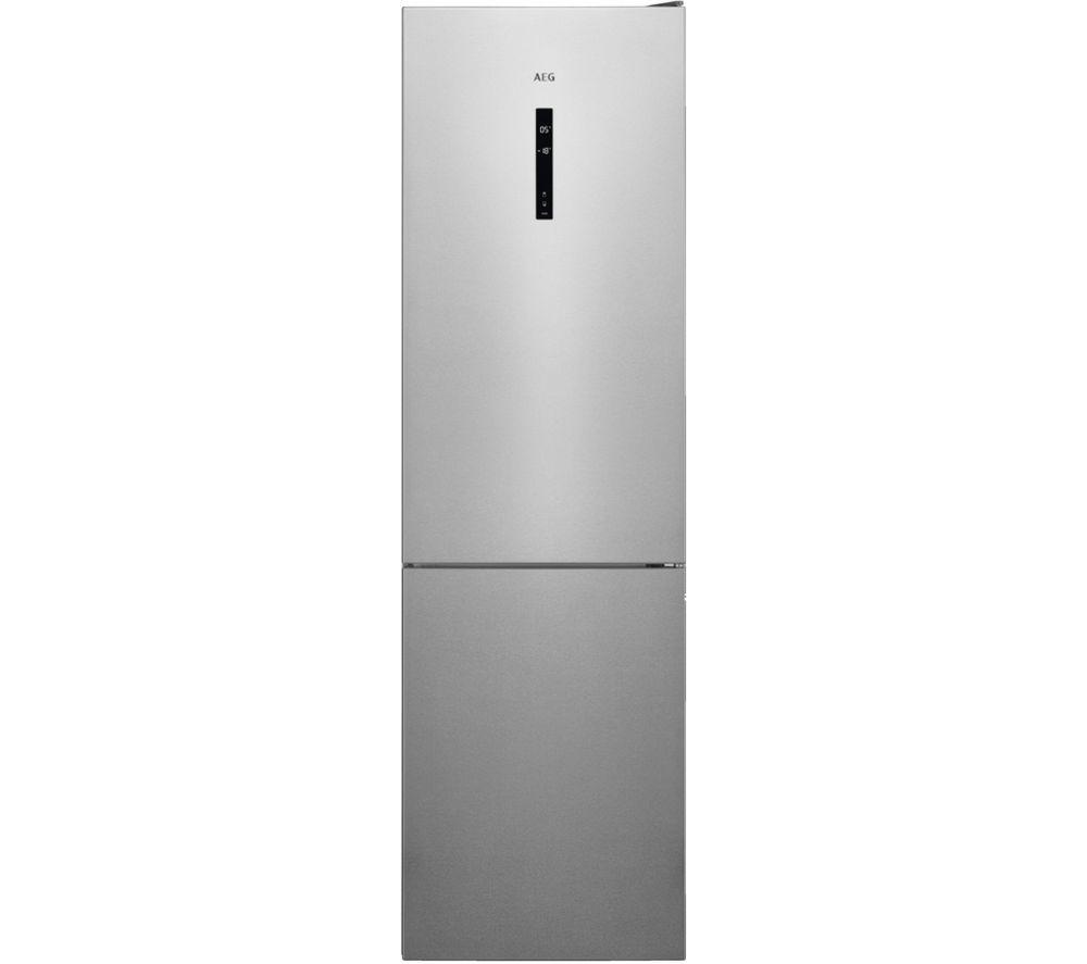AEG RCB736E5MX 60/40 Fridge Freezer - Silver, Silver