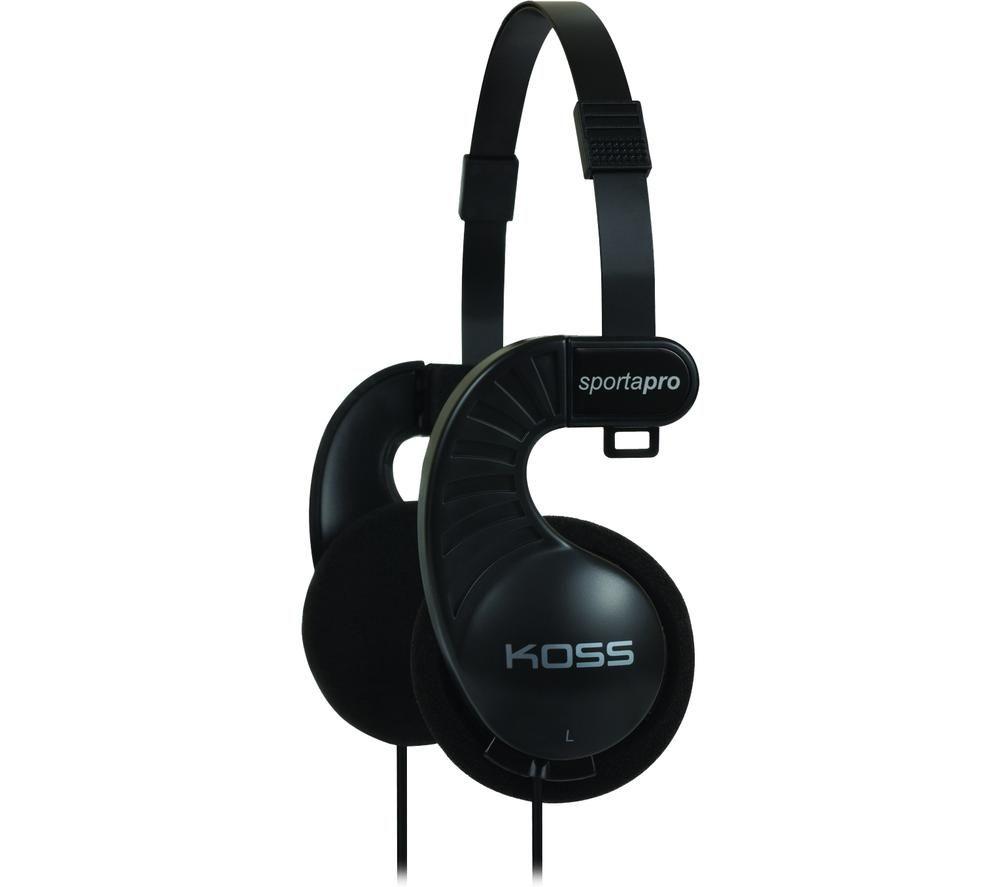 KOSS Sporta Pro 186016 Headphones - Black