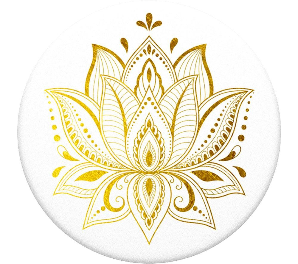 POPSOCKETS Swappable PopGrip Phone Grip - Golden Prana