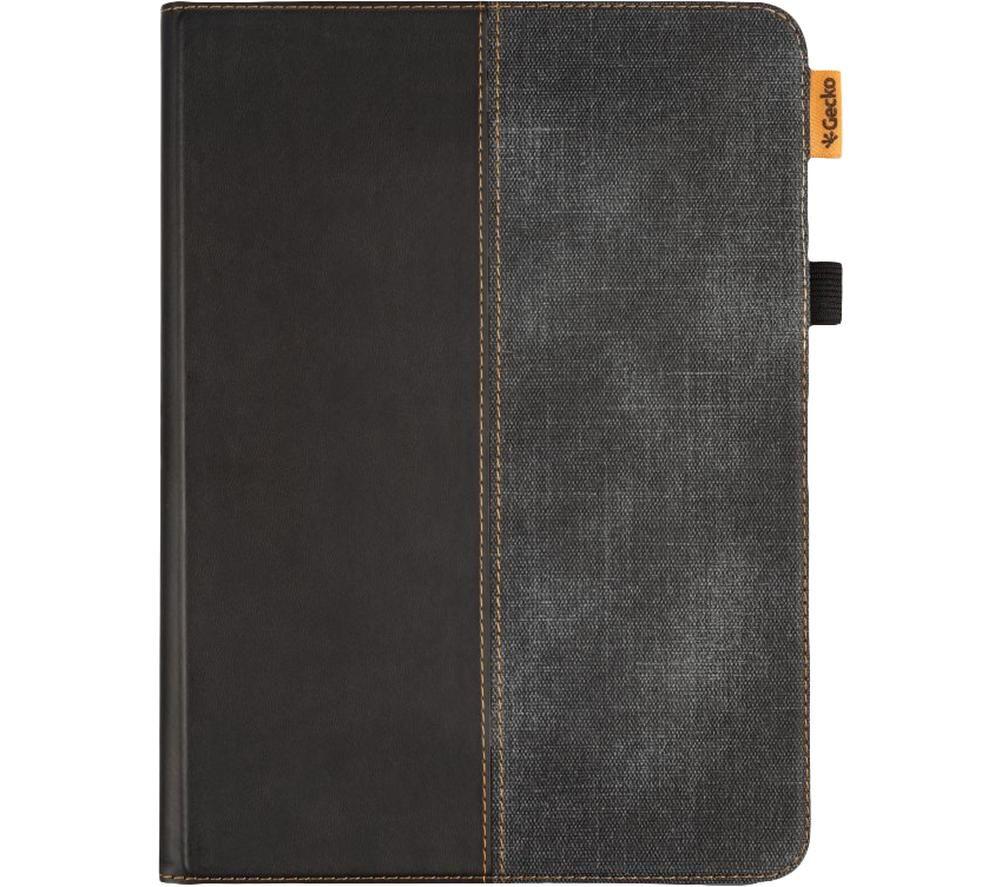 "GECKO COVERS Easy-Click 2.0 10.9"" iPad Air Folio Case – Black & Grey, Black"