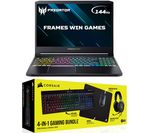 £1398.99, ACER Predator Triton 300 15.6inch Gaming Laptop & 4-in-1 Gaming Bundle - Intel® Core™ i7, RTX 2070, 1 TB SSD, Intel® Core™ i7-10750H Processor, RAM: 16GB / Storage: 1 TB SSD, Graphics: NVIDIA GeForce RTX 2070 MaxQ 8GB, 225 FPS when playing Fortnite at 1080p, Full HD screen / 144 Hz,