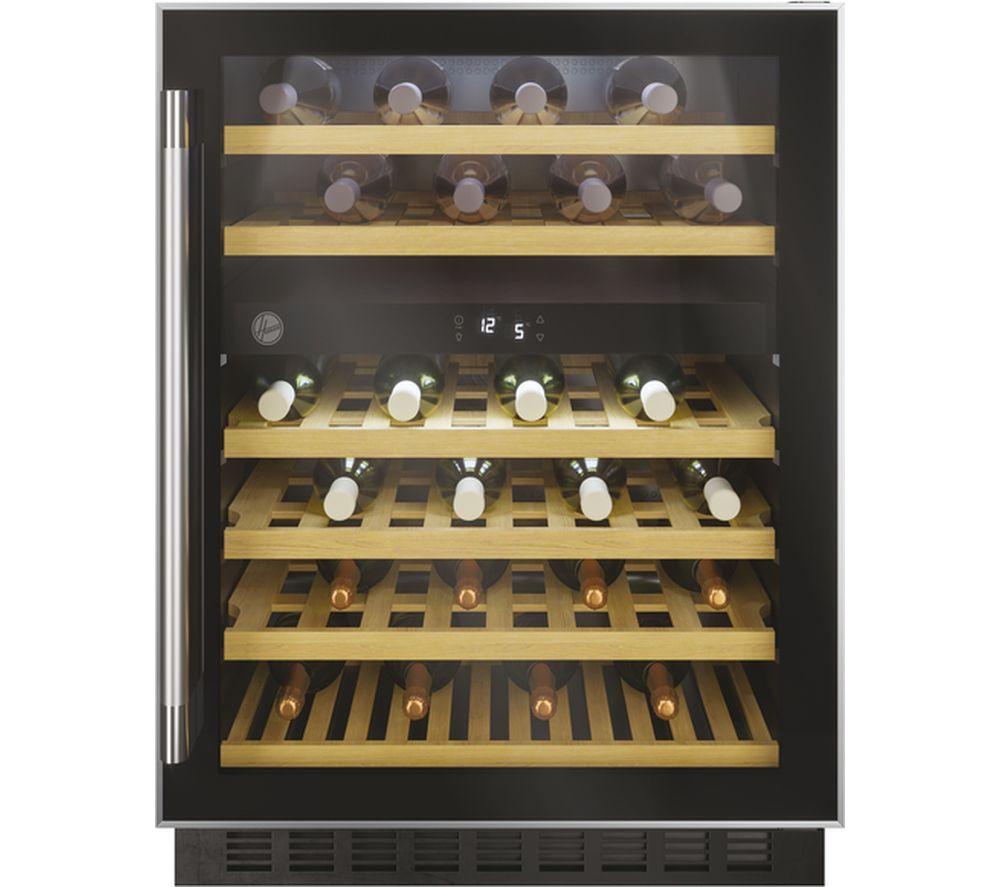 HOOVER HWCB 60 UK/N Wine Cooler ? Black, Black
