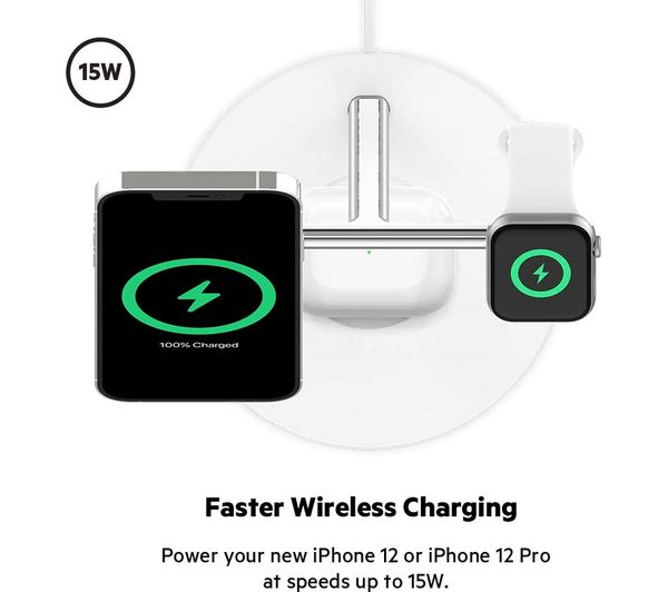 Belkin 3 in 1 MagSafe Charger 4