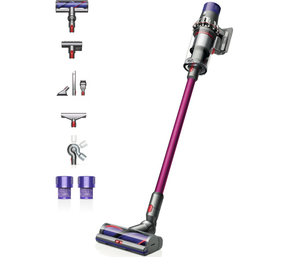 Image of DYSON Cyclone V10 Animal Extra Cordless Vacuum Cleaner - Fuchsia, Fuchsia