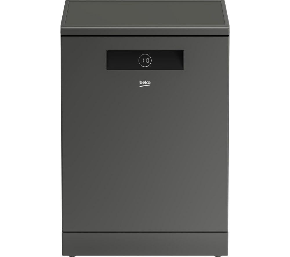 BEKO Pro Fast45 BDEN38640FG Full-size Dishwasher - Graphite