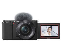 ZV-E10L Mirrorless Camera with E PZ 16-50 mm f/3.5-5.6 OSS Lens