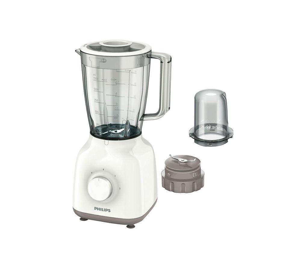 PHILIPS HR2102/01 Daily Blender - White & Beige