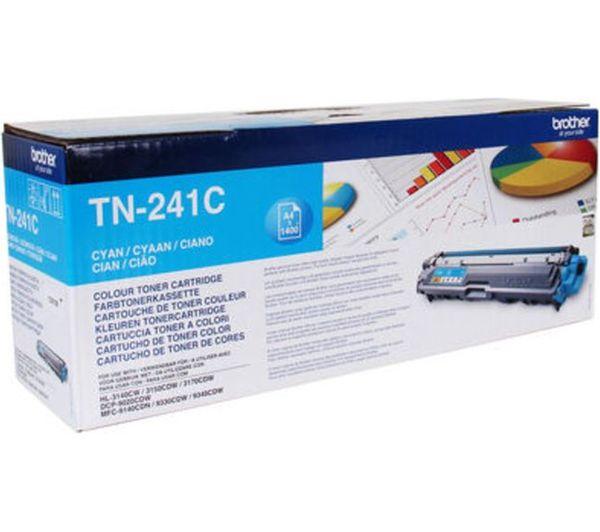 BROTHER TN241C Cyan Toner Cartridge