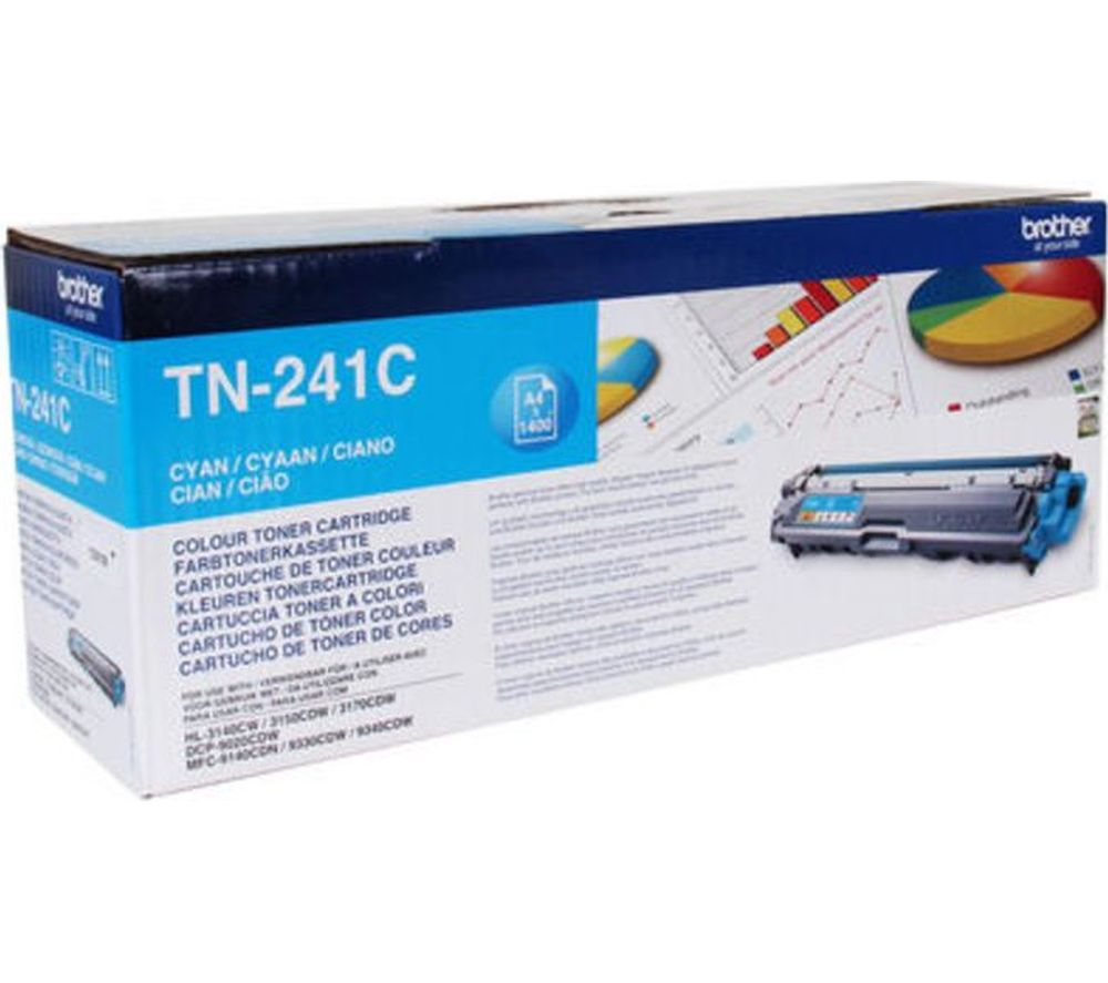 BROTHER TN241C Cyan Toner Cartridge