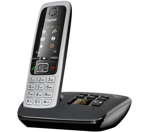 buy gigaset c430a trio cordless phone with answering machine triple handsets free delivery. Black Bedroom Furniture Sets. Home Design Ideas