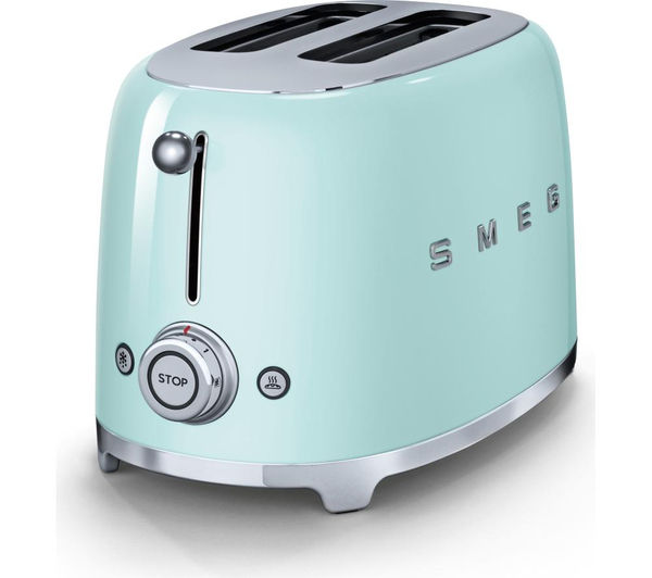 Buy SMEG TSF01PGUK 2-Slice Toaster - Pastel Green | Free Delivery ... | {Toaster 34}