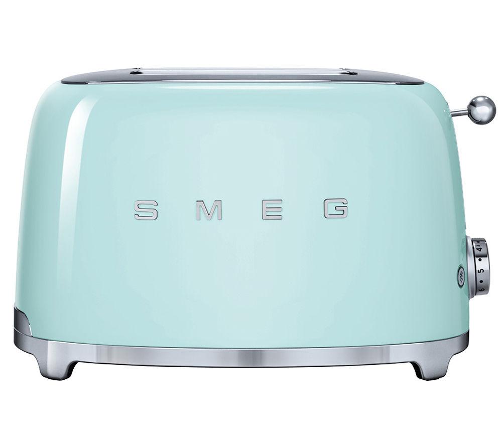 SMEG TSF01PGUK 2-Slice Toaster - Pastel Green