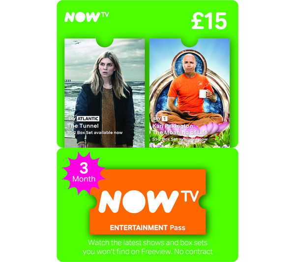 Image of NOW TV Entertainment Pass - 3 Month