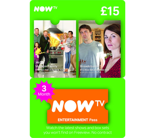 Buy Now Tv Entertainment Pass 3 Month Free Delivery Currys