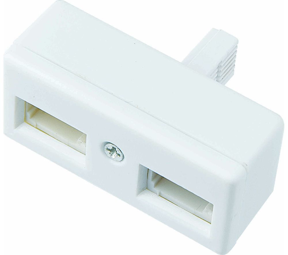 LOGIK LTD0B15 Telephone Socket Adapter