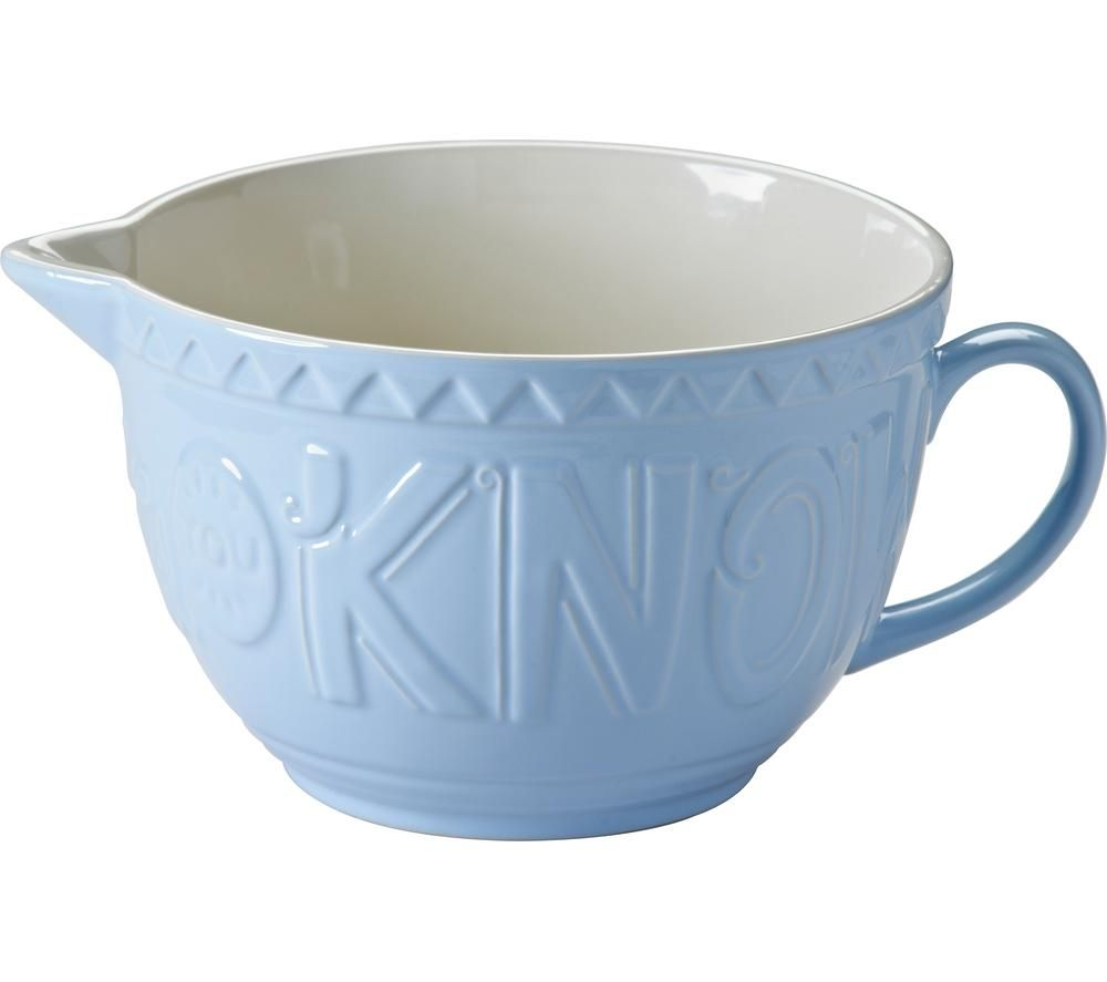 MASON CASH Bake My Day Batter Bowl - Blue