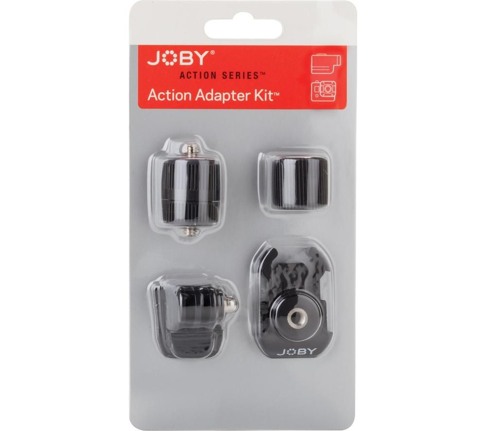 JOBY JB01325 Action Camera Adapter Kit - Black