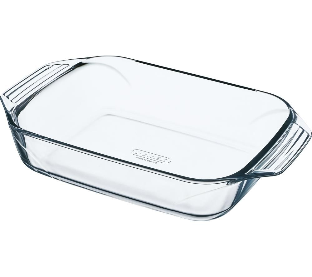 PYREX Optimum Rectangular 4-litre Roaster - Clear